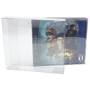 Games-18 (0,30mm) Caixa Protetora para Jogo Duplo de PS1 e Dreamcast 10unid