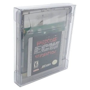 Games-27 (0,20mm) Caixa Protetora para Cartucho Loose Game Boy, Game Boy Color 10unid