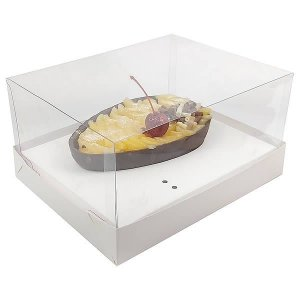 Caixa Ovo de Colher Páscoa 250g (18x14x7 cm) KIT18 Embalagem Ovo de Colher 10unids