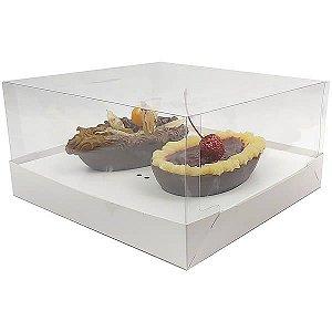 Caixa Ovo de Colher Páscoa 250g (19x17,5x9 cm) KIT32 Embalagem Ovo de Colher 10unids