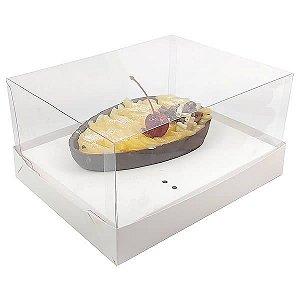 KIT Caixa Ovo de Colher Páscoa 350g (18x14x7 cm) Caixa e Berço KIT34 Embalagem Ovo de Colher 10unids