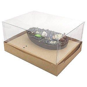 Caixa Ovo de Colher Páscoa 350g (18x14x7 cm) KIT35 10unid