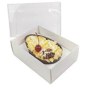 Caixa Ovo de Colher Páscoa 350g (16x11,5x15  cm) KIT40 10unid