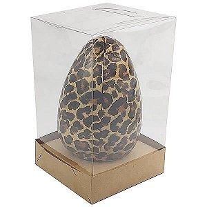 Caixa Ovo de Páscoa 250g e 350g (10x10x16,6 cm) KIT45 Embalagem Ovo de Chocolate 10unids
