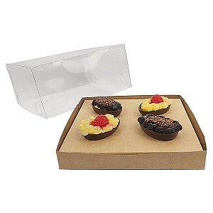Caixa Ovo de Páscoa 50g (19x17,5x9 cm) KIT65 Embalagem Ovo de Colher 10unids