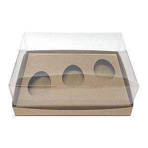 Caixa Ovo de Páscoa 150g (25x19x9 cm) KIT69 10unid