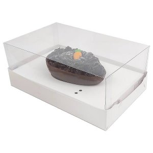 Caixa Ovo de Colher Páscoa 100g (17,6x11x9 cm) KIT70 10unid