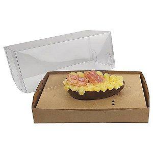Caixa Ovo de Colher Páscoa 100g (17,6x11x9 cm) KIT71 Embalagem Ovo de Páscoa 10unid
