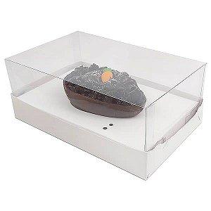 Caixa Ovo de Colher Páscoa 100g (17,6x11x7 cm) KIT72 Embalagem Ovo de Colher 10unids