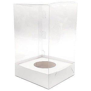 Caixa Ovo de Colher Páscoa 100g e 150g (10x10x15 cm) KIT84 10unid