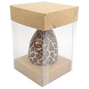 Caixa Ovo de Colher Páscoa 100g e 150g (10x10x15 cm) KIT85 10unid
