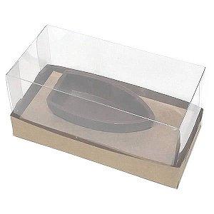 Caixa para Barca P Chocolate (12,8x6,5x6 cm) KIT87 10unid