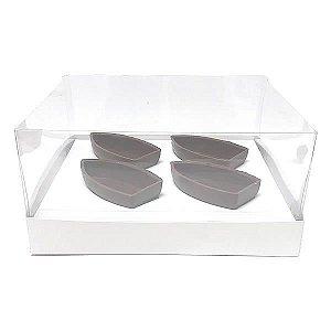 Caixa para Barca P Chocolate (19x17,5x9 cm) KIT88 10unid