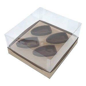 Caixa para Barca P Chocolate (19x17,5x9 cm) KIT89 10unid
