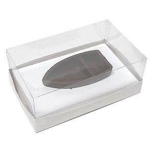 Caixa para Barca M Chocolate (17,6x11x9 cm) KIT90 10unid