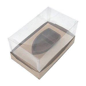 Caixa para Barca M Chocolate (17,6x11x7 cm) KIT93 10unid