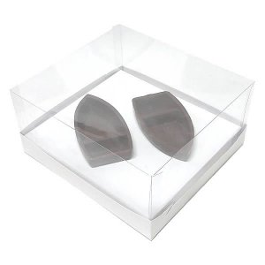 Caixa para Barca M Chocolate (19x17,5x9 cm) KIT94 10unid