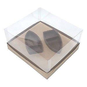Caixa para Barca M Chocolate (19x17,5x9 cm) KIT95 10unid