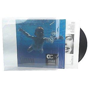Vinil-1 (0,20mm) Pasta Protetora para Disco de Vinil LP Long Play Simples 30cm 5unid