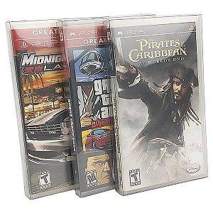 Games-35 (0,30mm) Caixa Protetora para Caixabox Case Playstation PSP 10unid