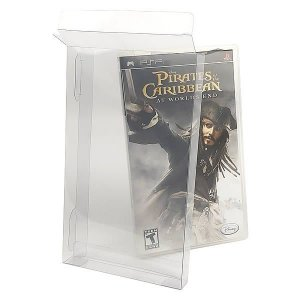 Games-35 (0,20mm) Caixa Protetora para Caixabox Case Playstation PSP 10unid