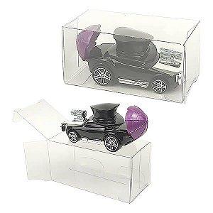 PX-235 (4x4x8 cm) Caixa Protetora para Carrinho Hot Wheels Coleção Carros e Miniaturas
