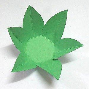 Forminha de Papel Flor Verde Claro (2.3x2.3x3 cm) 100unid Docinhos