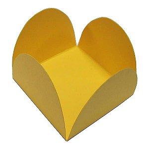 Forminha de Papel Amarela (3.5x3.5x2.5 cm) 100unid Brigadeiros