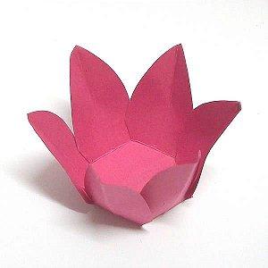 Forminha de Papel Flor Pink (2.3x2.3x3 cm) 100unid Docinhos