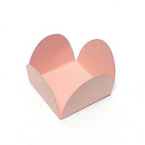 Forminha de Papel Rosa (3.5x3.5x2.5 cm) 100unid Forminha para Docinhos