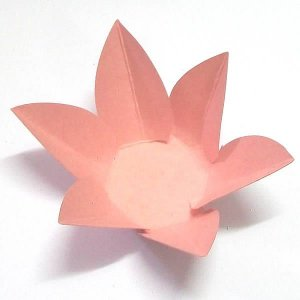 Forminha de Papel Flor Rosa (2.3x2.3x3 cm) 100unid Forminha Doces