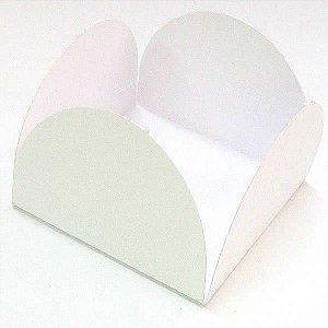 Forminha de Papel Branca (3.5x3.5x2.5 cm) 100unid Docinhos Gourmet