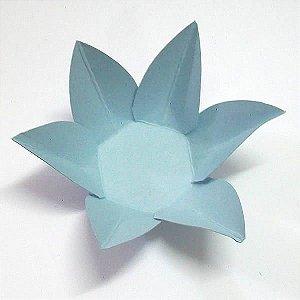 Forminha de Papel Flor Azul Claro (2.3x2.3x3 cm) 100unid Docinhos