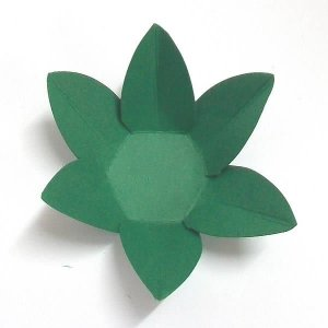 Forminha de Papel Flor Verde Escuro (2.3x2.3x3 cm) 100unid Gourmet