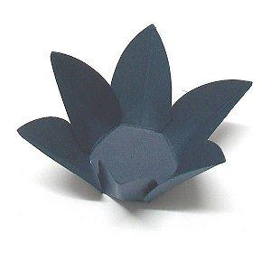 Forminha de Papel Flor Azul Marinho (2.3x2.3x3 cm) 100unid Doces