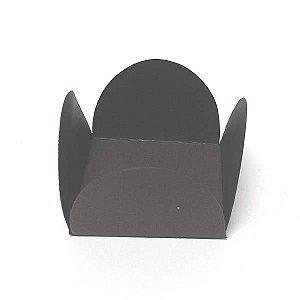 Forminha de Papel Marrom (3.5x3.5x2.5 cm) 100unid Beijinhos