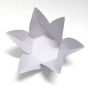 Forminha de Papel Flor Lilas (2.3x2.3x3 cm) 100unid Doces