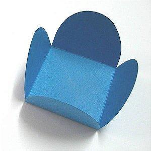 Forminha de Papel Azul Royal (3.5x3.5x2.5 cm) 100unid Docinhos