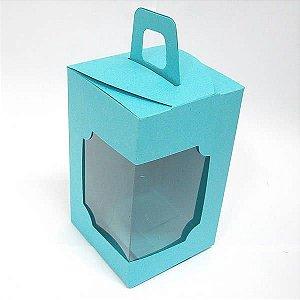 DV-12 Lisa Azul Turquesa/Tiffany (6x6x10 cm) 10unid