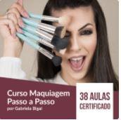 Método Grabriela Bigai de Maquiagem - LEIA A DESCRIÇÃO ABAIXO COM ATENÇÃO! - Finalize a compra por meio do link: https://www.hotmart.com/product/curso-maquiagem-passo-a-passo-por-gabriela-bigai/O6176885V?ref=L40294461B