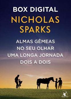 Box Nicholas Sparks: Almas gêmeas • No seu olhar • Uma longa jornada • Dois a dois - LEIA A DESCRIÇÃO ABAIXO COM ATENÇÃO! - Finalize a compra por meio do link.