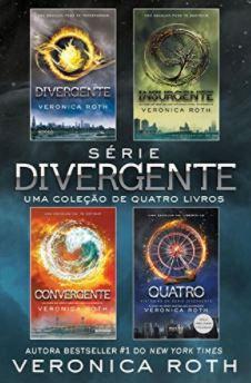 Série Divergente - LEIA A DESCRIÇÃO ABAIXO COM ATENÇÃO! - Finalize a compra por meio do link.