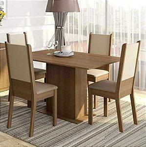 Conjunto Sala de Jantar Mesa e 4 Cadeiras - Leia a descrição abaixo com atenção!