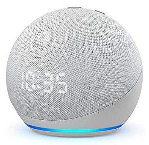 Novo Echo Dot (4ª geração): Smart Speaker com Relógio e Alexa - Leia a descrição abaixo com atenção!