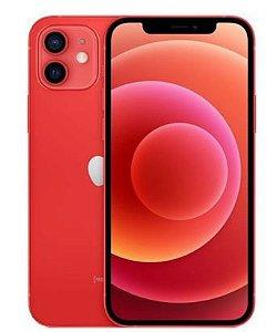 """iPhone 12 64GB Vermelho iOS 5G Wi-Fi Tela 6.1"""" Câmera - 12MP + 12MP - Apple - Leia a descrição abaixo com atenção!"""