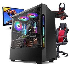 Pc Gamer Completo Smat Pc SMT81072 i5 8GB (Geforce GTX 1050TI 4GB) 1TB + Cadeira Gamer - Leia a descrição abaixo com atenção!
