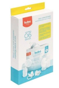 Saco Esterilizador Reutilizável Para Microondas Buba Baby 09814