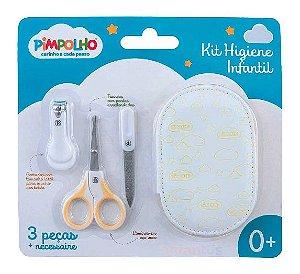 Kit higiene infantil com necessaire Pimpolho 88901