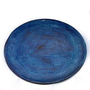 Prato Avulso Chocolate Azulado