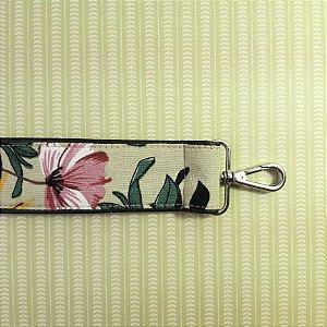 Alça Avulsa Floral Green